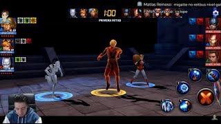 Tierra de Sombras Shadownland Marvel Future Fight con Uniformes SATANA PUNISHER & FALCON