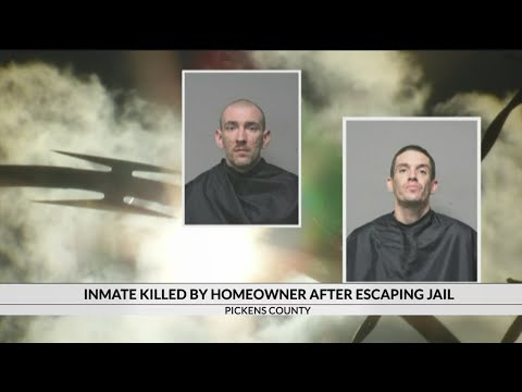 Homeowner shots, kills escaped inmate after he breaks into home