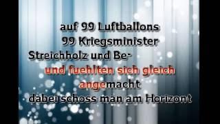 Nena  99 Luftballons - Karaoke