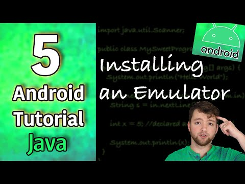 Android App Development Tutorial 5 - Installing an Emulator | Android Virtual Device Manager AVD thumbnail