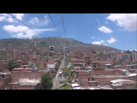 Short touristic visit of Medellin (Colombia)