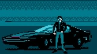 Knight Rider (NES) Playthrough - NintendoComplete