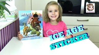 ICE AGE STICKERALBUM - Seid ihr auch im Sticker-Sammel-Fieber?