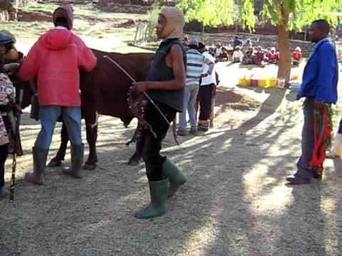 Lesotho, After harvest celebrations