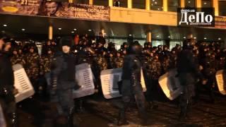 Второй концерт Лорак:ультрас против милиции