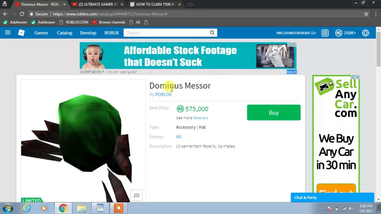 HOW TO CLAIM 750K ROBUX IN ROBLOX WITH THIS AMAZING GLITCH ...