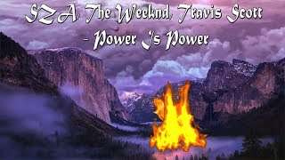 SZA, The Weeknd, Travis Scott - Power Is Power Lyrics