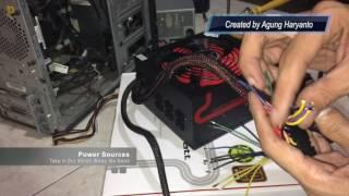 Lenovo Power Supply Upgrade Manually Convert 24 Pin to 14 Pin Connector