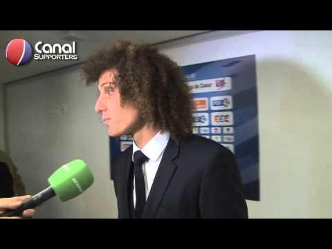 David Luiz - Parfois il nest pas facile de voir si un ballon est sorti