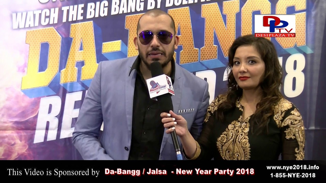 Ali Quli Mirza Speaking to Desiplaza TV at Salman Khan  Da-Bangg Kick Off Party