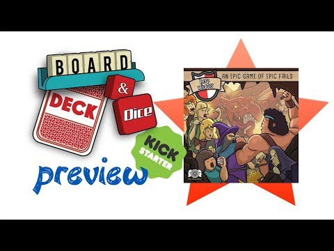 Hero Master: An Epic Game of Epic Fails - The Board Game by