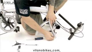 Assembling a 2015 Vilano folding bike