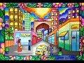 Cara menggambar pemandangan kota dg gradasi warna oilpastel titi 55 warna