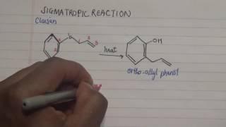 [3,3] sigmatropic reaction: Clasien rearrangement rules