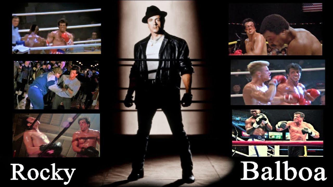 Rocky all Fight Remix - Rialzati e Combatti ! (Tutte le Sfide di Rocky)