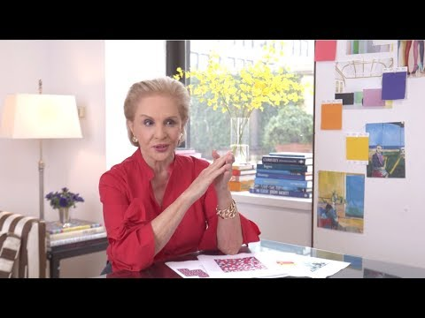 Spring 2018 - Carolina Herrera Interview | Carolina Herrera New York