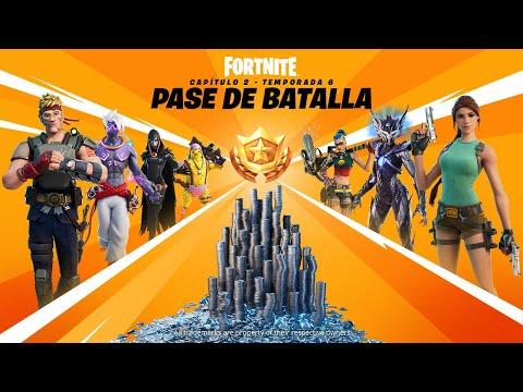 Tráiler del pase de batalla del Capítulo 2 - Temporada 6 de Fortnite