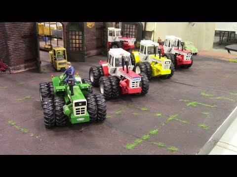 WHITE FARM EQUIPMENT 4wd Tractor Display By Jacco Van Den Broek
