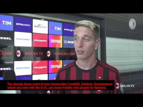 """Andrea Conti: """"I wanted only AC Milan"""""""