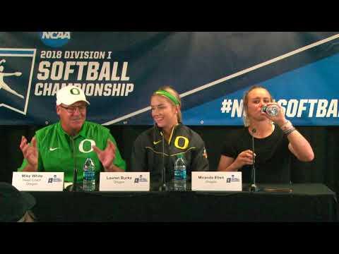 Albany vs. Oregon Game 1 Regional Post Game Media