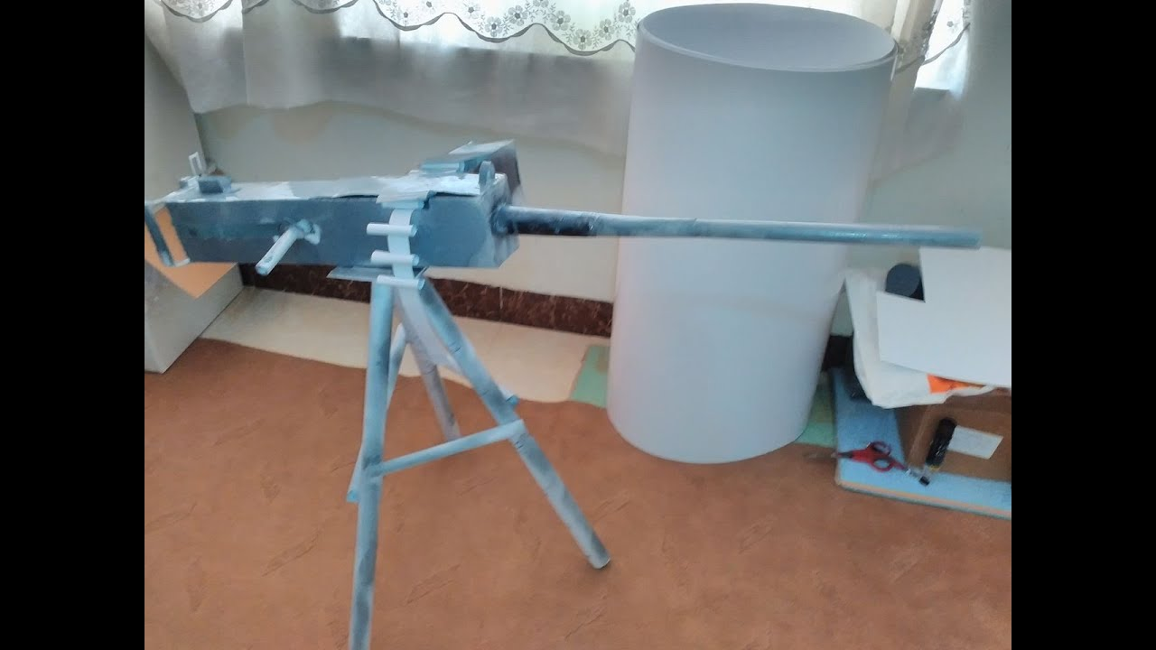 How To Make M2 Browning 50 Cal Tutorial Youtube