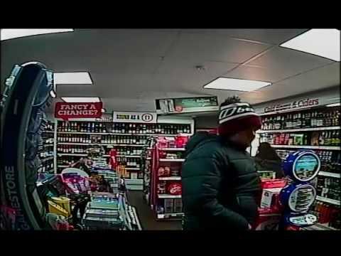 Bargain Booze Seacombe Robbery 12/11/16 Door Cam