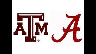 2018 #22 Texas A&M at #1 Alabama (Highlights)