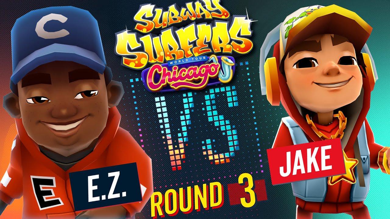 Download Subway Surfers Versus | E.Z. VS Jake | Chicago - Round 3 | SYBO TV