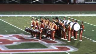 Drum Battle - St C and Indian Creek 9 25 2015
