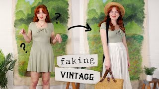 """Faking"" Vintage: Springtime Edition! 