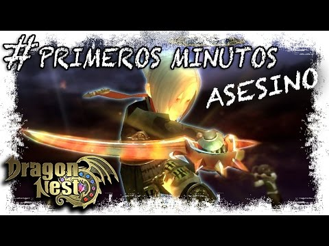 Dragon Nest Gameplay Español | Primeros Minutos Asesino | MMOrpg Free To Play Manganime