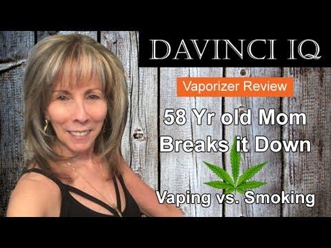 My Davinci IQ Review | 50+ Mom Vaping vs. Smoking | *Best Price Top Vaporizer
