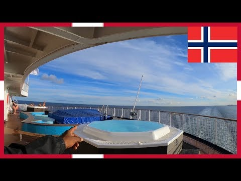 Copenhagen to Oslo via Cruise Boat DFDS Seaways