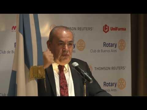Rotary Club de Buenos Aires - Reunión 12/7/2017: Conferencia de Ignacio Zuleta