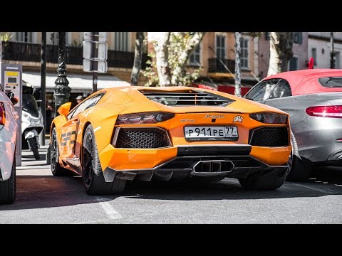 Supercars of St.Tropez 2017 - 1300HP Aventador and more !