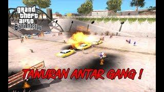 GTA SA Indonesia - Tawuran Persib, The Jack, Arema !!! - GTA Ora Lucu CUK!