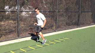 Ladder Drills: 123 Ins | Sweat City Athletic Performance Training