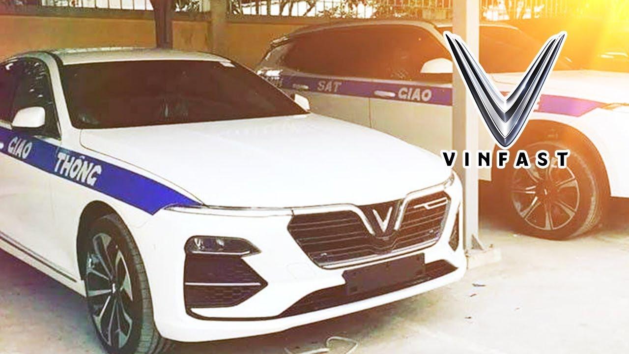 VinFast Lux Có Khả Năng Sẽ Được Dùng Cho Cảnh Sát Giao Thông Việt Nam?