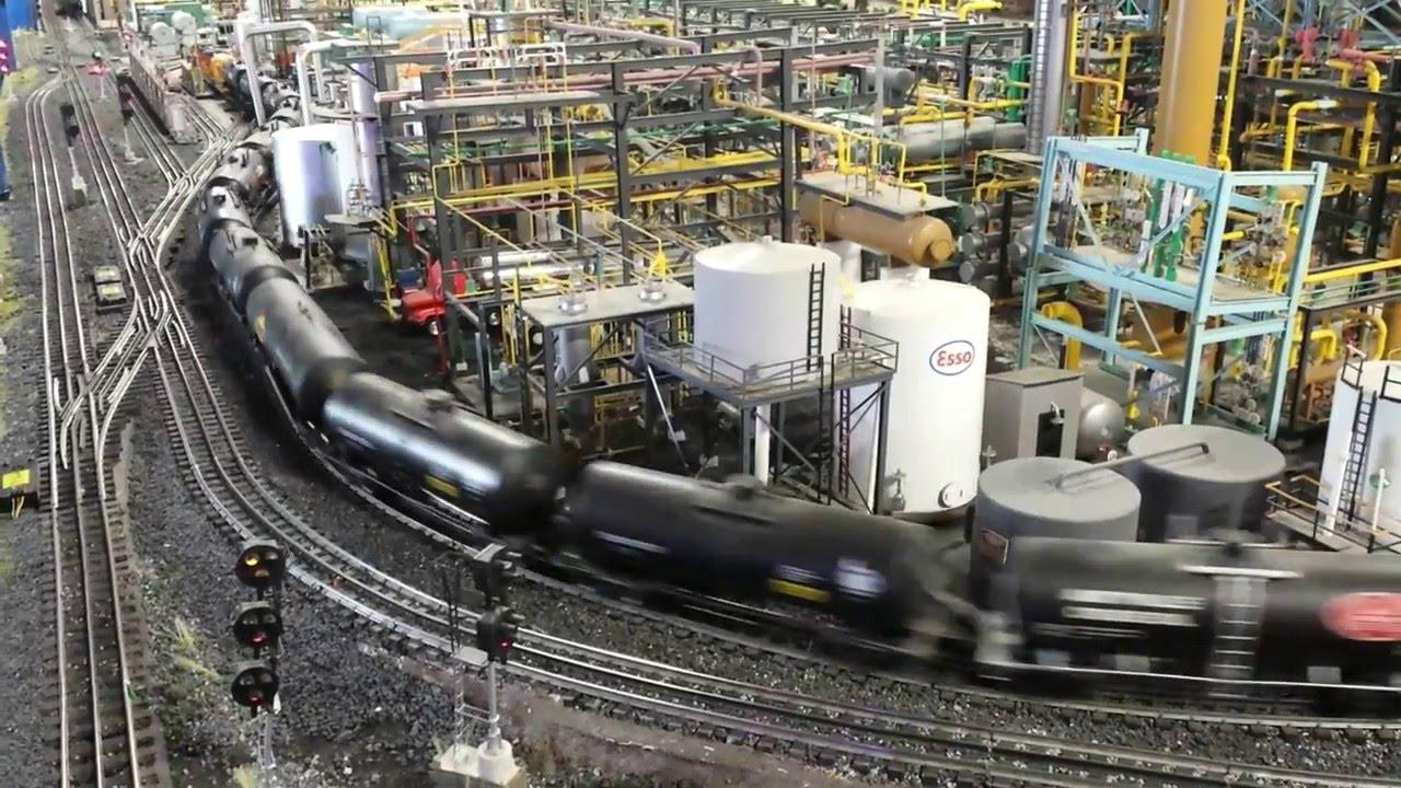 NJ Hi Railers huge model train layout