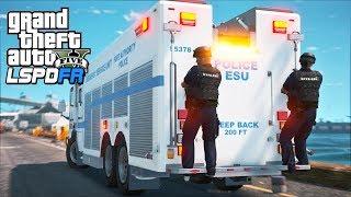 GTA 5 - LSPDFR Ep545 - NYPD ESU SWAT UNIT!!