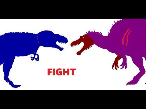 """EGB: Spinosaurus vs Daspletosaurus """"200-300 Subs Special"""""""