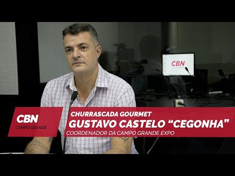 Entrevista CBN Campo Grande: coord. da Campo Grande EXPO, Gustavo Castelo