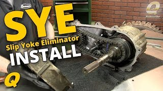 How to Install a Slip Yoke Eliminator and Driveshaft for a Jeep Wrangler TJ