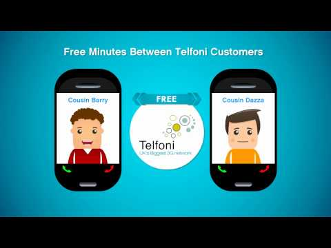 Telfoni Mobile GSM, low cost Prepaid international calling and Unlimited 3G data