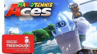 Mario Tennis Aces Gameplay Pt. 3 - Nintendo Treehouse: Live | E3 2018