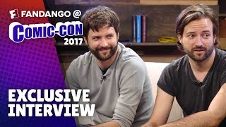 Geeking Out Over 'Stranger Things' with the Duffer Brothers | Comic-Con 2017