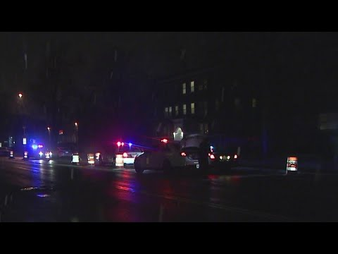 IMPD: 24-year-old pedestrian shot on Meridian Street
