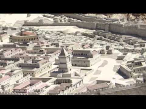 Second Temple Model Israel Museum (Holyland Model of Jerusalem)- Including explanations of the sites