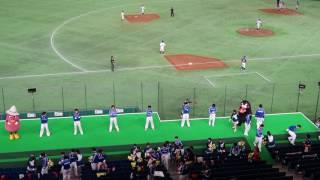 【2017都市対抗】Honda熊本応援・7回表の応援風景~くまモン登場~