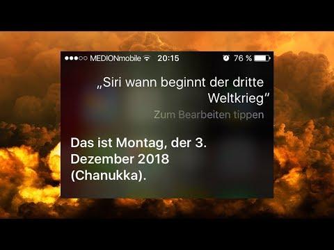 Ausgangssperre wegen Geister - Siri sagt 3. Weltkrieg voraus - immer mehr Hexen / Creepy News #1